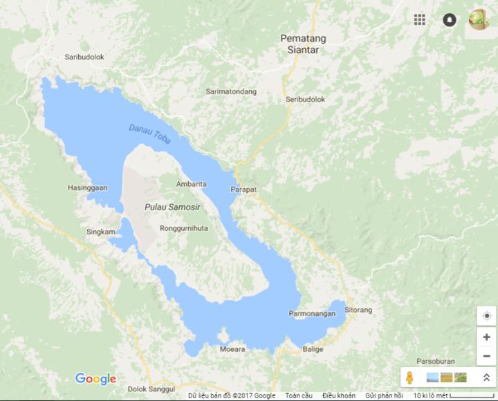 Toba Map